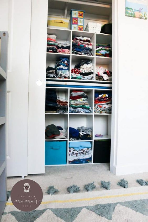 Kids Clothes Storage 17 - Wonderful Kids Clothes Storage Ideas