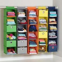 Kids Clothes Storage 20 214x214 - Wonderful Kids Clothes Storage Ideas