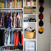 Kids Clothes Storage 28 214x214 - Wonderful Kids Clothes Storage Ideas