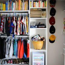 Kids Clothes Storage 28 214x214 - Wonderful Kids Clothes Storage Ideas