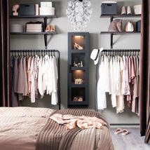 Kids Clothes Storage 34 214x214 - Wonderful Kids Clothes Storage Ideas