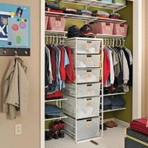 Kids Clothes Storage 45 214x214 - Wonderful Kids Clothes Storage Ideas