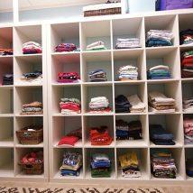 Kids Clothes Storage 7 214x214 - Wonderful Kids Clothes Storage Ideas