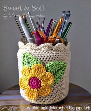 Mason Jar Pencil Holders 1 - Spectacular Mason Jar Pencil Holders Ideas
