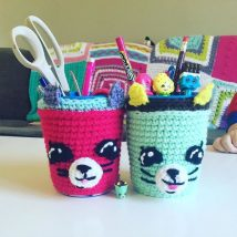 Mason Jar Pencil Holders 12 214x214 - Spectacular Mason Jar Pencil Holders Ideas