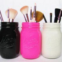 Mason Jar Pencil Holders 13 214x214 - Spectacular Mason Jar Pencil Holders Ideas
