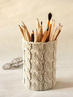 Mason Jar Pencil Holders 15 - Spectacular Mason Jar Pencil Holders Ideas