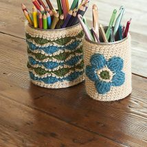 Mason Jar Pencil Holders 19 214x214 - Spectacular Mason Jar Pencil Holders Ideas