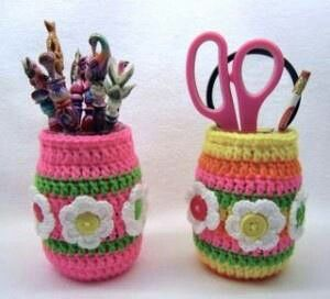 Mason Jar Pencil Holders 20 - Spectacular Mason Jar Pencil Holders Ideas