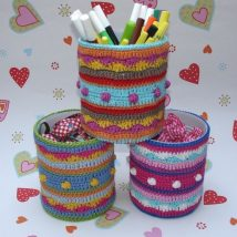 Mason Jar Pencil Holders 21 214x214 - Spectacular Mason Jar Pencil Holders Ideas