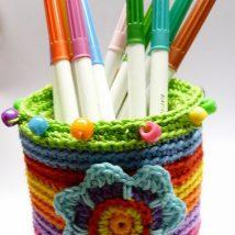 Mason Jar Pencil Holders 33 214x214 - Spectacular Mason Jar Pencil Holders Ideas