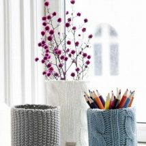 Mason Jar Pencil Holders 38 214x214 - Spectacular Mason Jar Pencil Holders Ideas