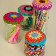 Mason Jar Pencil Holders 4 214x214 - Spectacular Mason Jar Pencil Holders Ideas