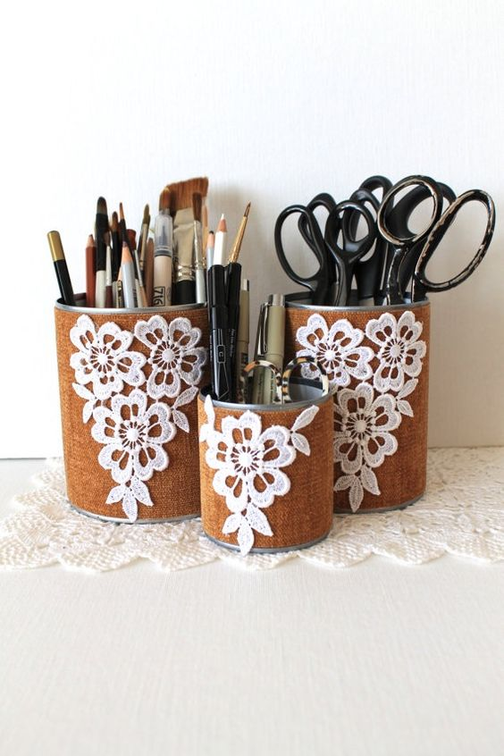 Mason Jar Pencil Holders 42 - Spectacular Mason Jar Pencil Holders Ideas