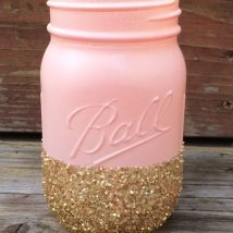 Mason Jar Pencil Holders 44 214x214 - Spectacular Mason Jar Pencil Holders Ideas