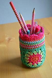 Mason Jar Pencil Holders 46 - Spectacular Mason Jar Pencil Holders Ideas