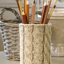 Mason Jar Pencil Holders 5 214x214 - Spectacular Mason Jar Pencil Holders Ideas