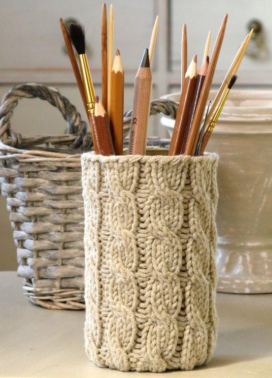 Mason Jar Pencil Holders 5 - Spectacular Mason Jar Pencil Holders Ideas
