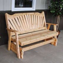 Outdoor Bench Projects 1 214x214 - 40+ Extraordinary Outdoor Bench Projects