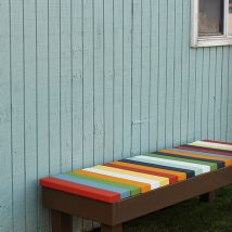 Outdoor Bench Projects 10 214x214 - 40+ Extraordinary Outdoor Bench Projects