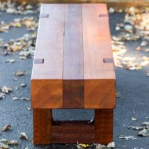 Outdoor Bench Projects 15 214x214 - 40+ Extraordinary Outdoor Bench Projects