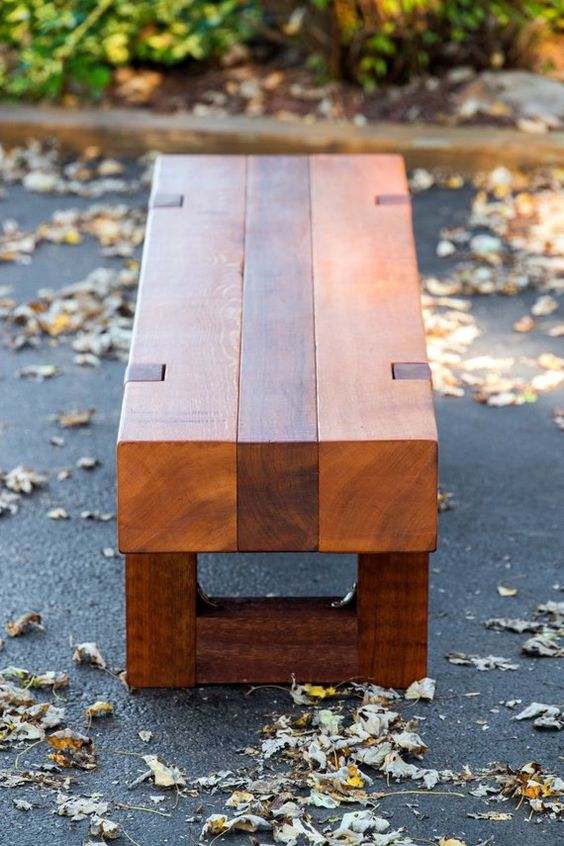 Outdoor Bench Projects 15 - 40+ Extraordinary Outdoor Bench Projects