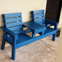 Outdoor Bench Projects 16 214x214 - 40+ Extraordinary Outdoor Bench Projects