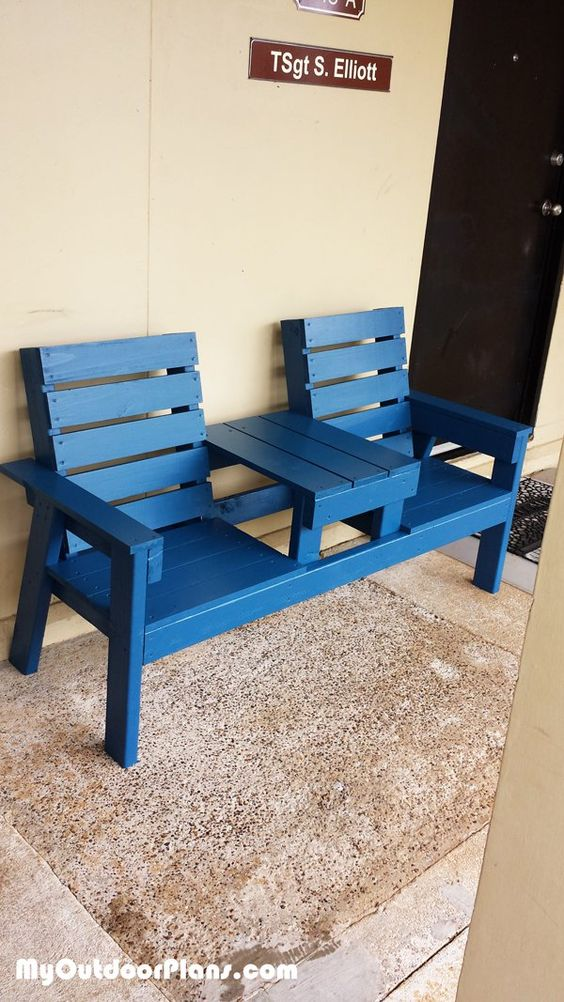 Outdoor Bench Projects 16 - 40+ Extraordinary Outdoor Bench Projects