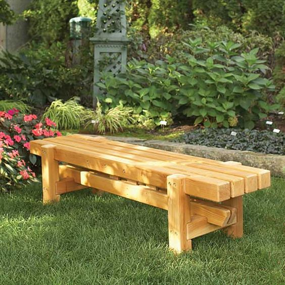 Outdoor Bench Projects 18 - 40+ Extraordinary Outdoor Bench Projects