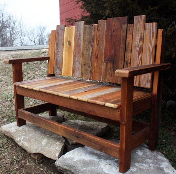 Outdoor Bench Projects 2 - 40+ Extraordinary Outdoor Bench Projects