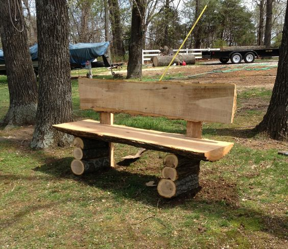 Outdoor Bench Projects 21 - 40+ Extraordinary Outdoor Bench Projects