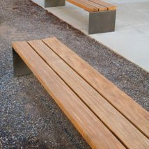 Outdoor Bench Projects 22 214x214 - 40+ Extraordinary Outdoor Bench Projects
