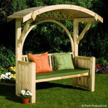 Outdoor Bench Projects 23 214x214 - 40+ Extraordinary Outdoor Bench Projects
