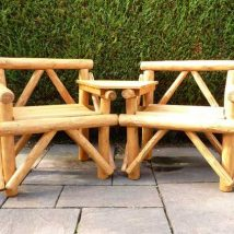 Outdoor Bench Projects 25 214x214 - 40+ Extraordinary Outdoor Bench Projects