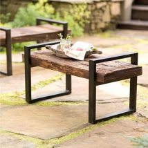 Outdoor Bench Projects 26 214x214 - 40+ Extraordinary Outdoor Bench Projects