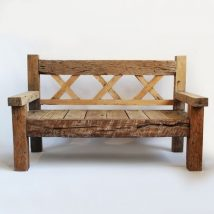 Outdoor Bench Projects 31 214x214 - 40+ Extraordinary Outdoor Bench Projects