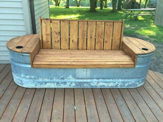 Outdoor Bench Projects 32 - 40+ Extraordinary Outdoor Bench Projects