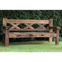 Outdoor Bench Projects 33 214x214 - 40+ Extraordinary Outdoor Bench Projects