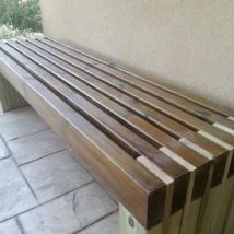 Outdoor Bench Projects 34 214x214 - 40+ Extraordinary Outdoor Bench Projects