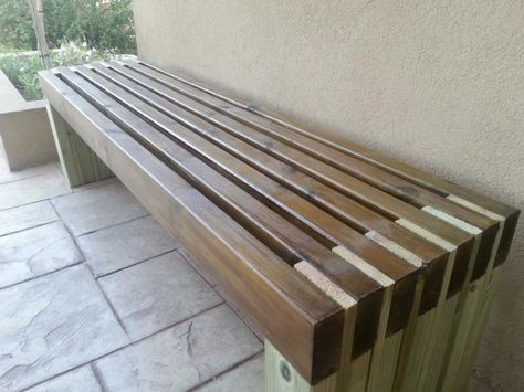 Outdoor Bench Projects 34 - 40+ Extraordinary Outdoor Bench Projects