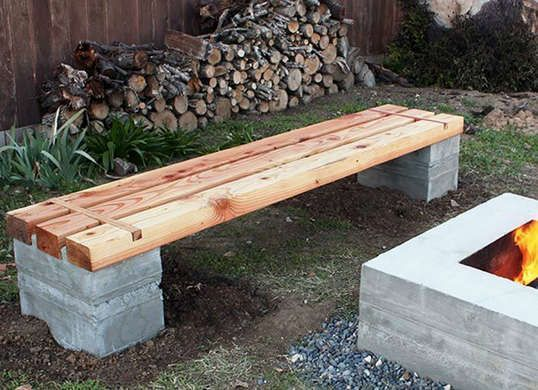 Outdoor Bench Projects 37 - 40+ Extraordinary Outdoor Bench Projects