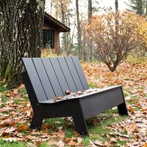 Outdoor Bench Projects 38 214x214 - 40+ Extraordinary Outdoor Bench Projects
