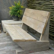 Outdoor Bench Projects 39 214x214 - 40+ Extraordinary Outdoor Bench Projects