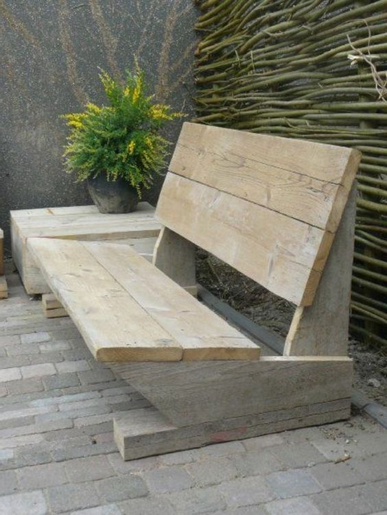 Outdoor Bench Projects 39 - 40+ Extraordinary Outdoor Bench Projects