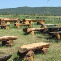 Outdoor Bench Projects 40 214x214 - 40+ Extraordinary Outdoor Bench Projects