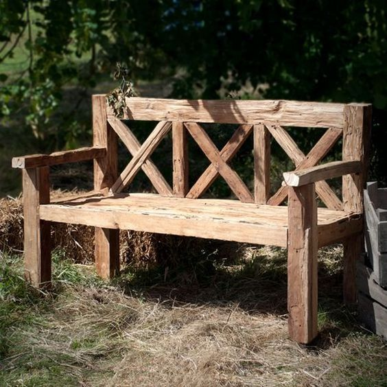 Outdoor Bench Projects 42 - 40+ Extraordinary Outdoor Bench Projects