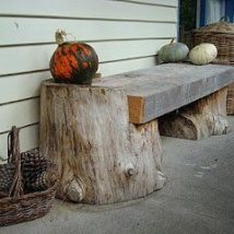 Outdoor Bench Projects 46 214x214 - 40+ Extraordinary Outdoor Bench Projects
