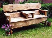 Outdoor Bench Projects 47 214x154 - 40+ Extraordinary Outdoor Bench Projects