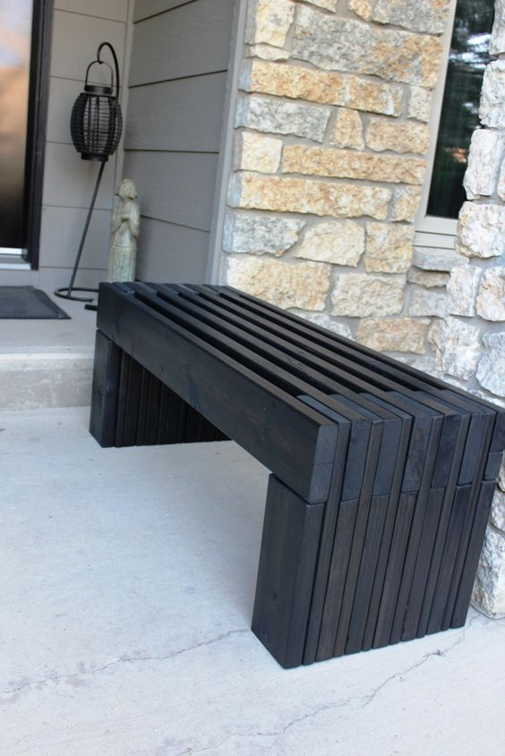 Outdoor Bench Projects 5 - 40+ Extraordinary Outdoor Bench Projects
