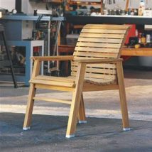 Outdoor Bench Projects 7 214x214 - 40+ Extraordinary Outdoor Bench Projects